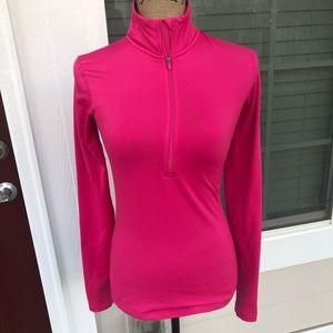 Nike Half ZIP pink.